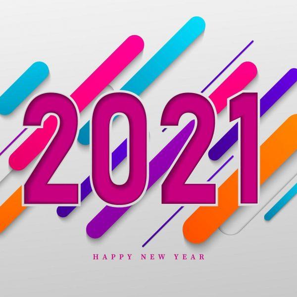 1483248-colore-bonne-annee-2021-vectoriel